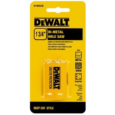 DeWalt 1-3/4 In. Bi-Metal Hole Saw