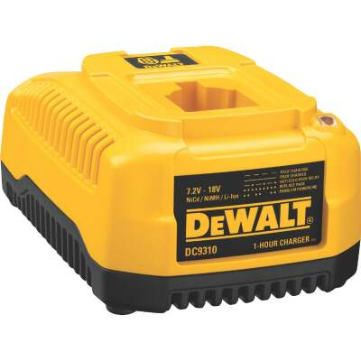 DeWalt 7.2-Volt to 18-Volt Nickel-Cadmium/Nickel-Metal Hydride/Lithium-Ion Fast Battery Charger