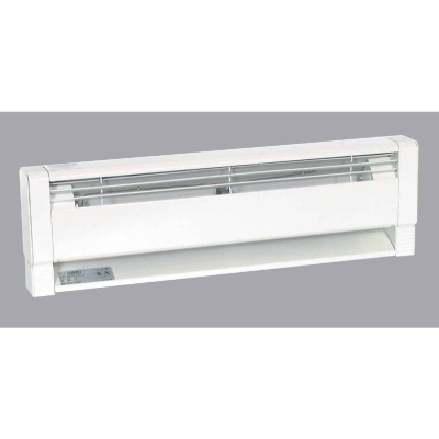 Fahrenheat 70 In. 1500-Watt 240-Volt Hydronic Electric Baseboard Heater, White