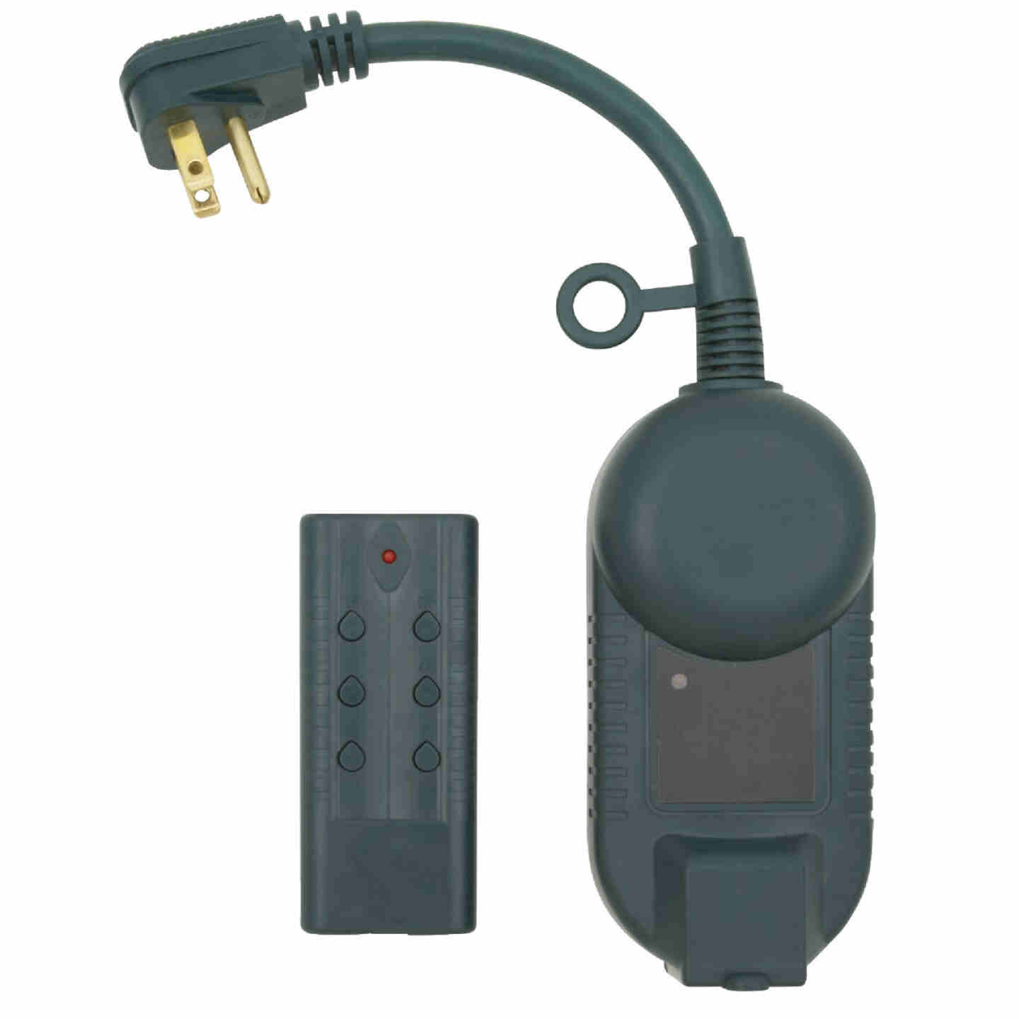 Do it 12.5A 120V 1500W Green Outdoor Timer with Remote Image 1
