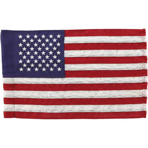 Valley Forge 11 In. x 15 In. Polyester American Garden Flag